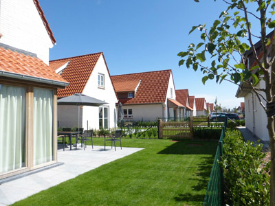 landscape architect projects holiday park Breeduyn Village Belgium